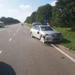 В аварии на трассе Кишинёв – Бельцы скончался молодой водитель скутера (ФОТО)