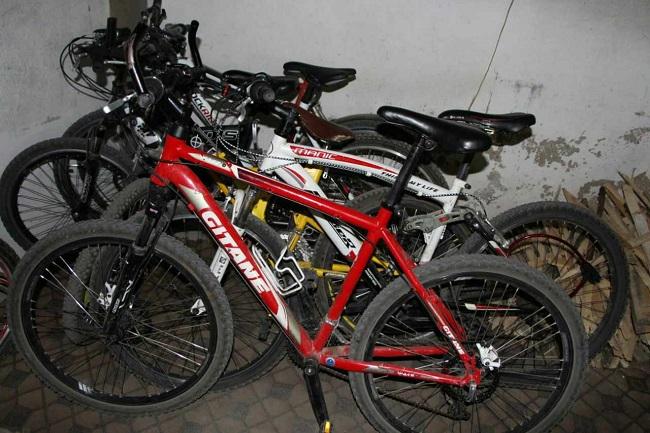 Житель Рышкань украл более 20 спортивных велосипедов, из-за чего был задержан полицией (ФОТО)
