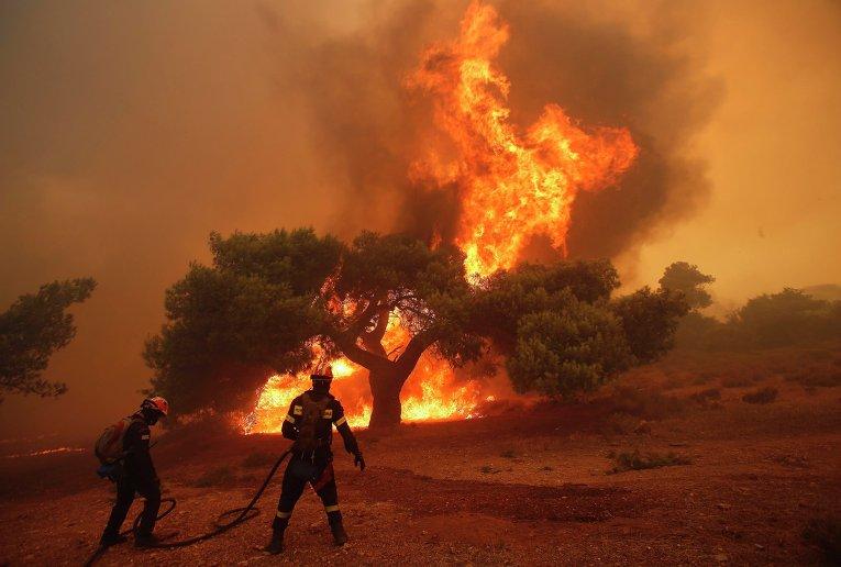 МИДЕИ РМ призвало молдаван воздержаться от поездок в затронутые пожарами регионы Греции