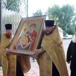 В Чуфлинский монастырь привезена икона Божьей Матери «Троеручица» со Святой горы Афон (ФОТО, ВИДЕО)