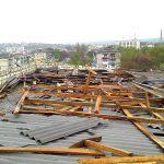 Размытые дороги, уничтоженные подсолчнечник и кукуруза и поврежденная крыша: последствия ливней в Молдове