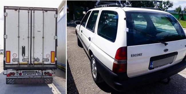 Двое румын пытались попасть в Молдову на автомобилях с неверными номерами кузовов