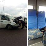 Полиция нагрянула с проверкой на конечные остановки маршруток: был выявлен ряд нарушений (ВИДЕО)