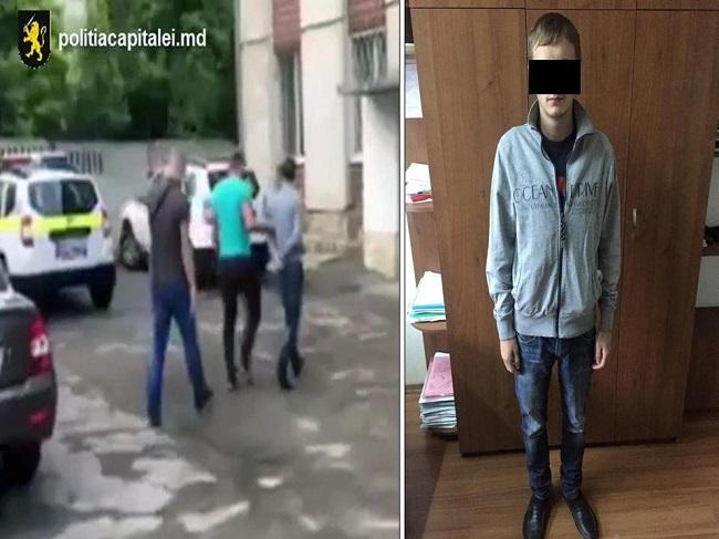 Бывший наркоторговец вновь попал в руки полиции – на сей раз за кражу телефона (ВИДЕО)