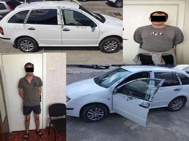 В Кишинёве два приятеля угнали автомобиль, оставленный без присмотра на АЗС
