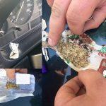 В Кишинёве задержаны 4 молодых человека, употреблявших наркотики в автомобиле (ВИДЕО)