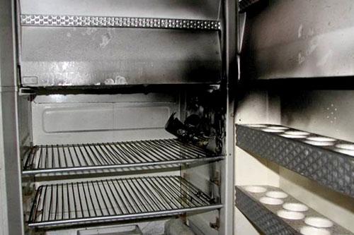 Пожар в Тирасполе: в жилом доме загорелся холодильник