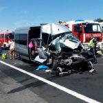 СМИ: Автобус с пассажирами из Молдовы попал в аварию в Австрии, есть пострадавшие (ФОТО)
