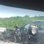 Серьезная авария на въезде в Вадул-луй-Водэ: машины всмятку, водители ранены