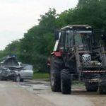 Серьезная авария в Приднестровье с участием трактора: пострадали 6 человек