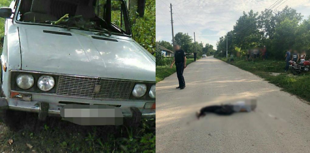 Пьяный водитель сбил насмерть велосипедиста и спрятался в лесу
