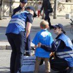 Сторонники Санду и Нэстасе привели на протест ребенка и потеряли его в толпе
