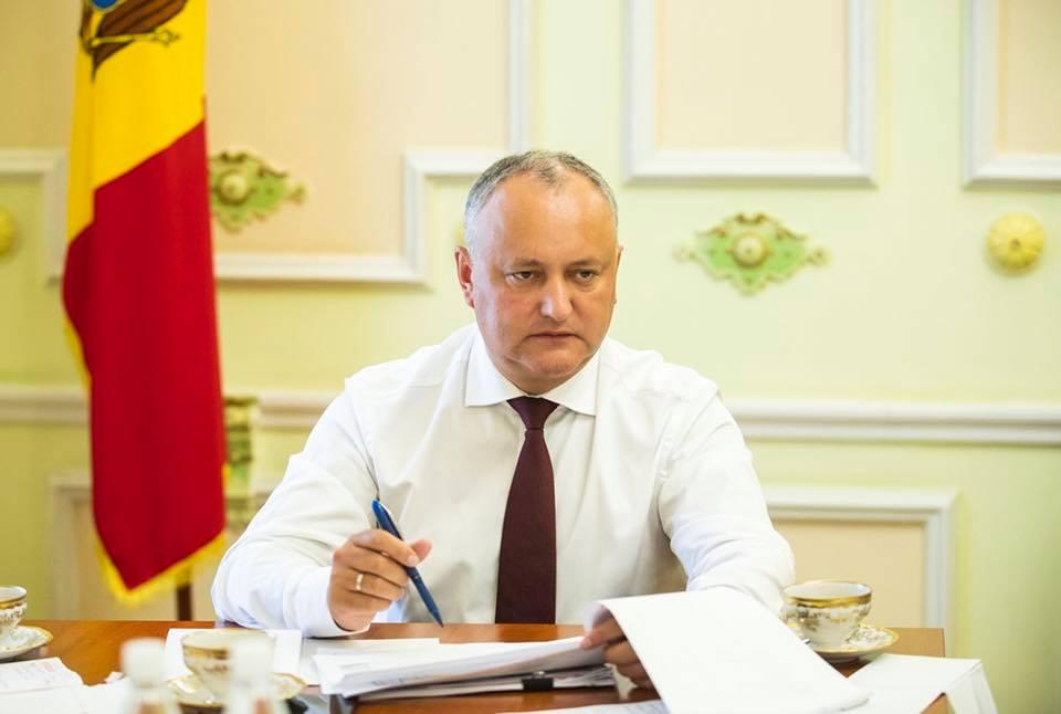 Додон выразил соболезнования президенту Болгарии