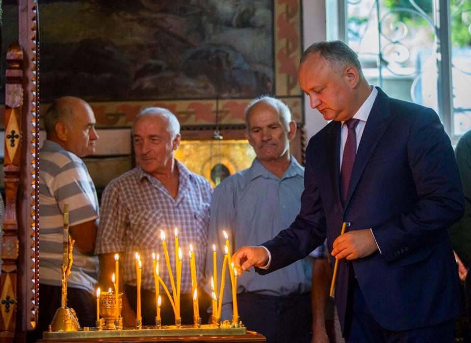 Глава государства поздравил сограждан с Успением Пресвятой Богородицы: В этот праздничный день мы обрели Небесную Заступницу (ФОТО)