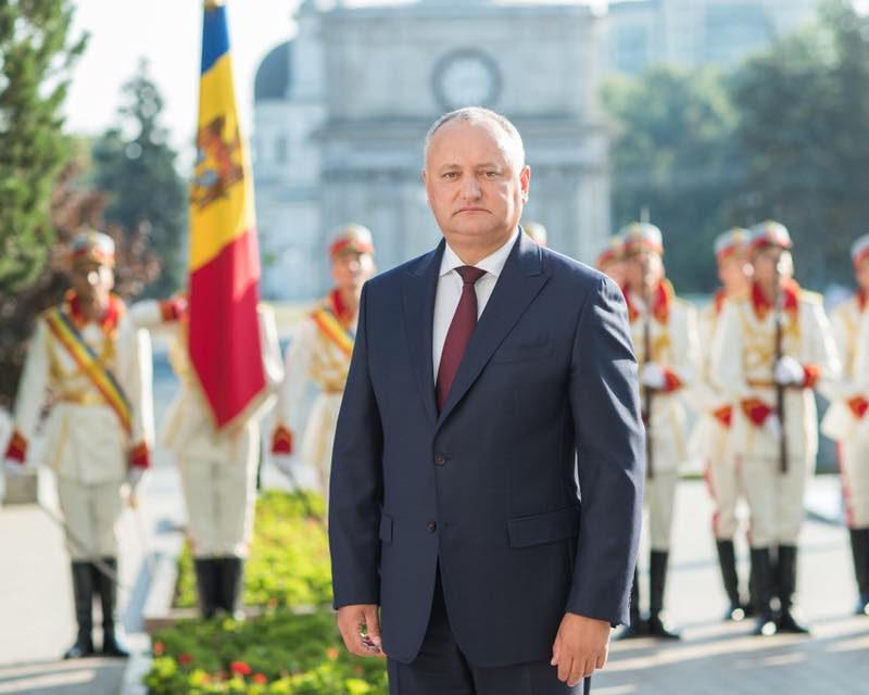 Додон: Я доказал, что у Молдовы есть будущее, и это самое главное