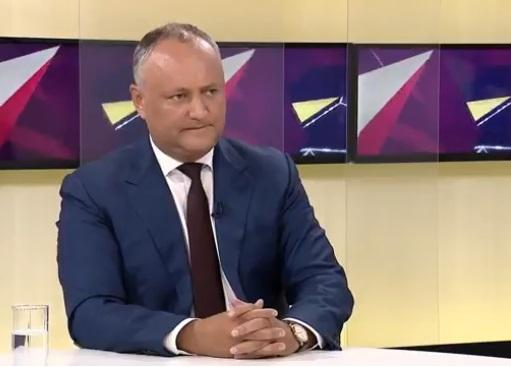 Додон о парламентских выборах: Принципов не меняю – никаких переговоров с демократами и правыми (ВИДЕО)