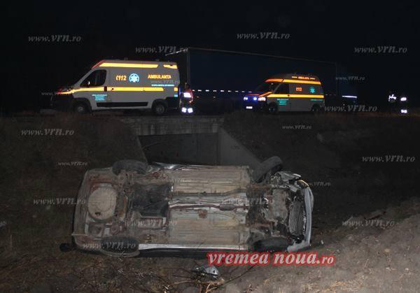 Странное поведение молдавского водителя в Румынии привело к серьезному ДТП