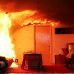 Старая электропроводка стала причиной пожара в доме жителей Кишинёва