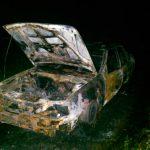 В Рыбнице дотла сгорел автомобиль (ФОТО)
