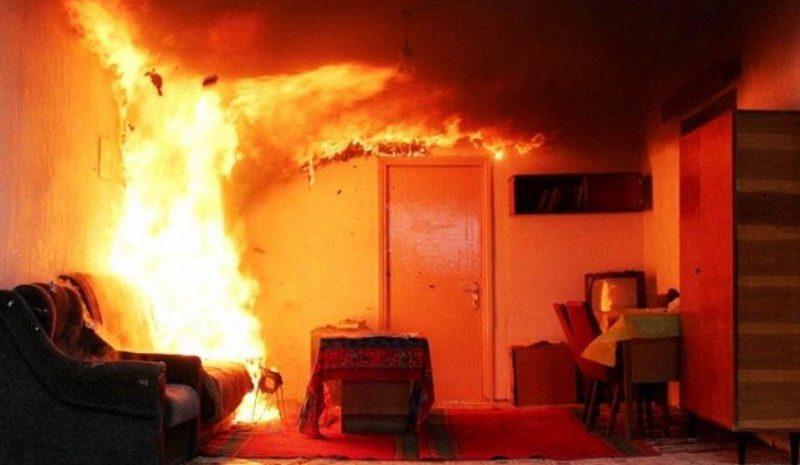В Рышканском районе мужчина скончался во время пожара в собственном доме