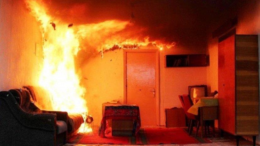 Трагедия в Новых Аненах: мужчина сгорел заживо