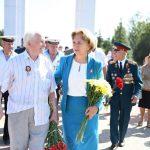 Социалисты приняли участие в церемонии захоронения останков советских воинов на Шерпенском плацдарме (ФОТО)