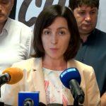 "Цырдя: Европарламент ""треснул"" Майю Санду"