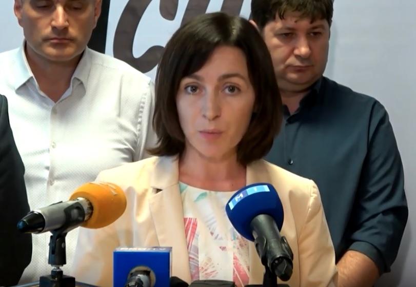 Санду признала, что обещание снести забор у здания президентуры было электоральным
