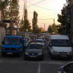 На молдавской границе снова образовались километровые очереди (ВИДЕО)