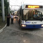 Рейд полиции: по Кишиневу ездят троллейбусы с дефектами в тормозной системе и рулевом управлении