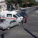 """Тираспольчанин на """"Волге"""" въехал в машину скорой помощи, перевозившую пациента"""