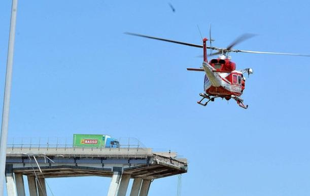 При обрушении моста в Италии пострадал еще один гражданин Молдовы