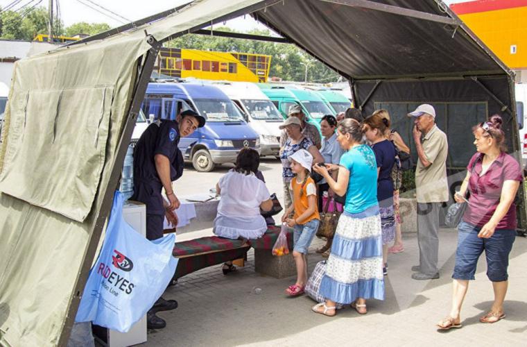 """Количество палаток """"антижара"""" в Молдове было увеличено"""