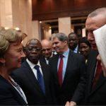 Гречаный встретилась с Эрдоганом на съезде Партии справедливости и развития Турции