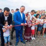 Додон в Комрате поучаствовал в открытии спортивного комплекса, построенного в рамках национальной кампании «Люблю Молдову» (ФОТО)