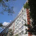 Подробности пожара на Чеканах: в горящей квартире были люди