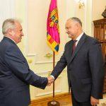 Игорь Додон впервые встретился с новым послом Турции в Молдове (ФОТО)