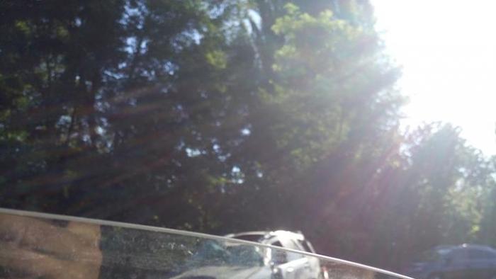 На Ботанике 19-летний водитель не справился с управлением и вылетел с дороги