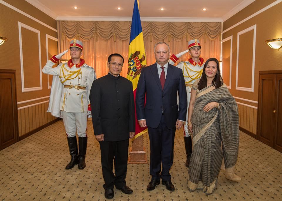 Додон выступил за расширение сотрудничества Молдовы и Индии