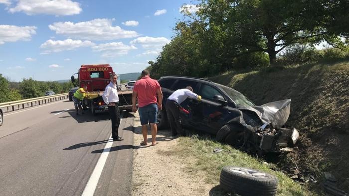 ДТП на трассе Кишинев-Оргеев: три автомобиля серьезно повреждены (ФОТО)