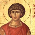 Президент поздравил своих сограждан с православным праздником - днем Святого Великомученика Пантелеимона