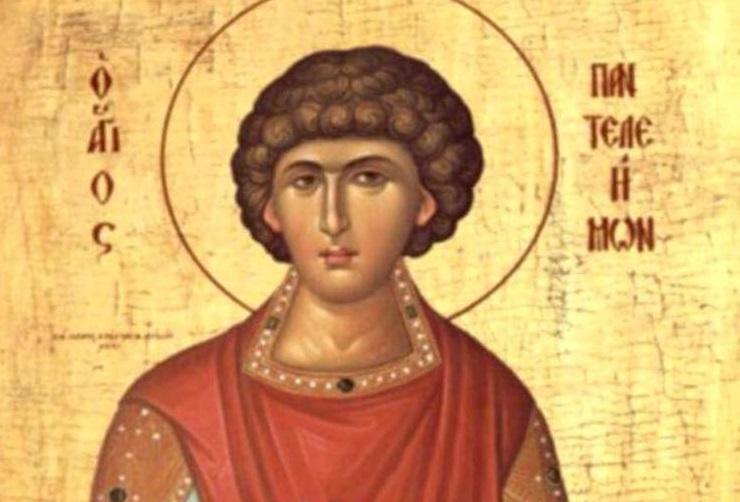 Президент поздравил своих сограждан с православным праздником – днем Святого Великомученика Пантелеимона