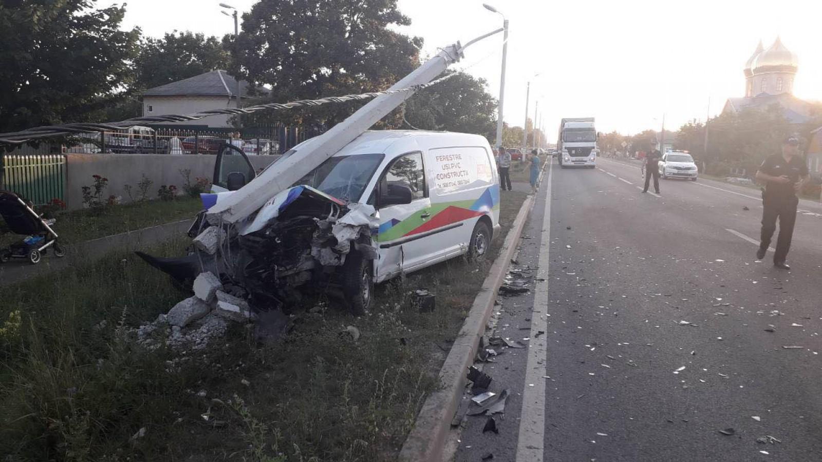 В ДТП в Сорокском районе пострадал один человек (ФОТО)