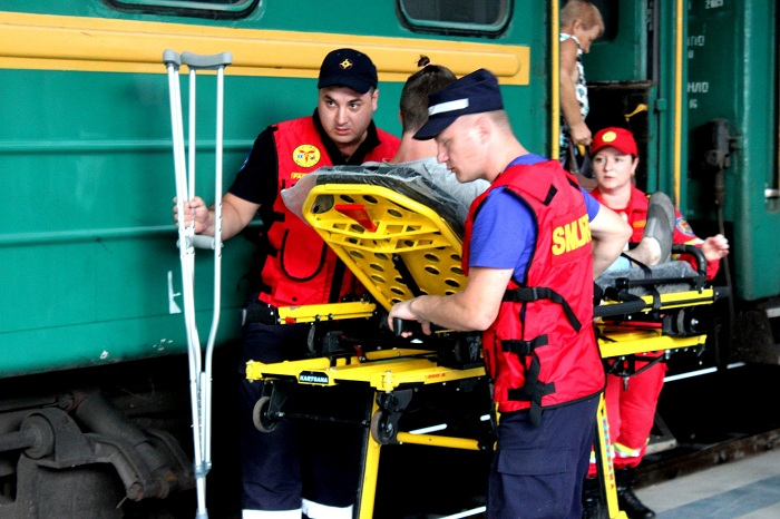 В Кишинев доставили молодого человека, пострадавшего в ДТП в Калуге (ФОТО)