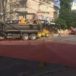 Хорошие новости: оживленная дорога в центре Кишинева вскоре вновь откроется для транспорта