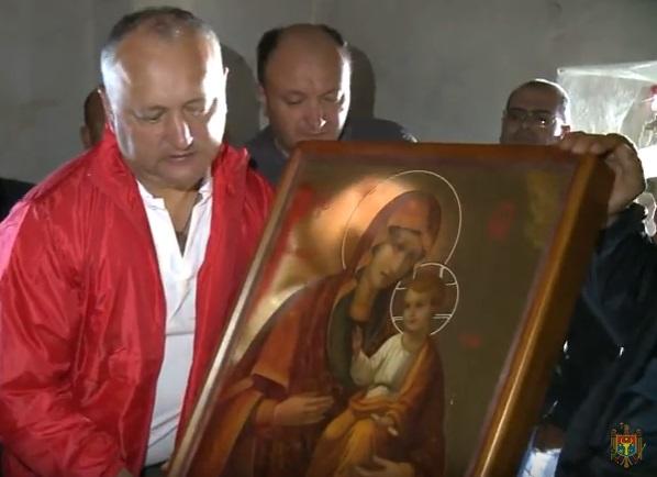 Отныне на вершине Святой Горы Афон есть икона из Молдовы (ВИДЕО)