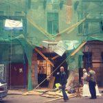 Четверо молдаван разбились в Санкт-Петербурге, упав со строительных лесов