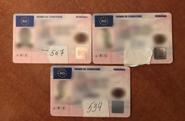 Три молдаванина попались на границе с фальшивыми документами (ФОТО)