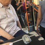 Корину Фусу заметили в кишиневском троллейбусе