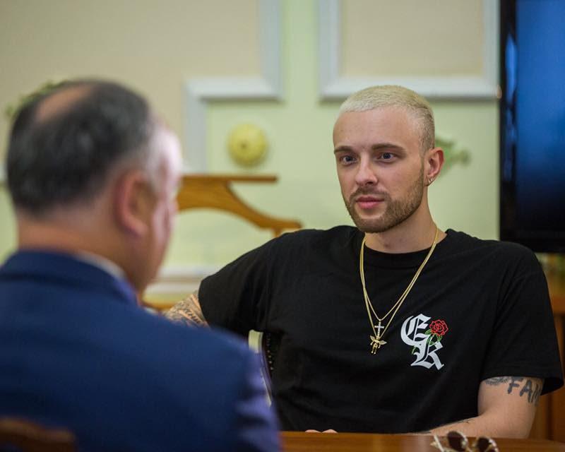 Президент пригласил Егора Крида бесплатно спеть для молодежи в День студента в центре Кишинева
